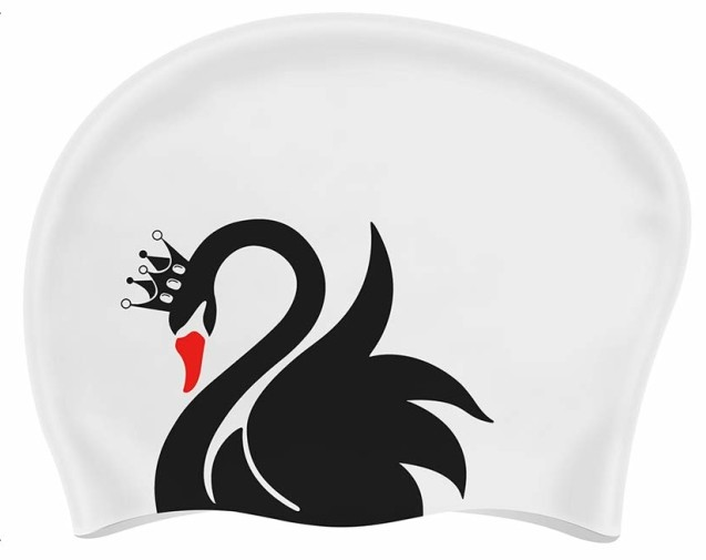 custom swim cap long hair
